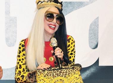 Lady Gaga ruc ro trong ngay hoi cua rieng minh hinh anh