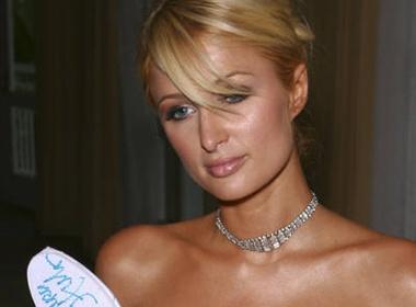 Paris Hilton bi... 'bam cang' hinh anh