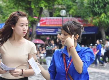 Tong hop diem chuan cac truong DH, CD hinh anh