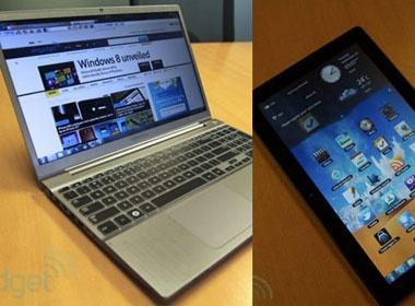 Samsung ra laptop sieu di dong va tablet chay Windows moi hinh anh