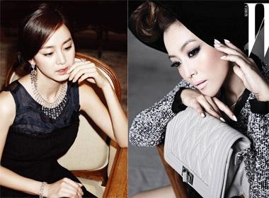 Kim Hee Sun - Kim Tae Hee dua nhau... toa nhiet hinh anh