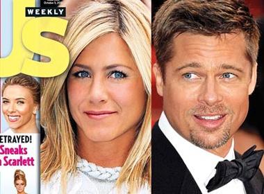 Jennifer Aniston 'bao thu' Brad Pitt hinh anh