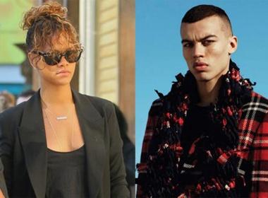 Rihanna yeu nguoi giong het Chris Brown hinh anh