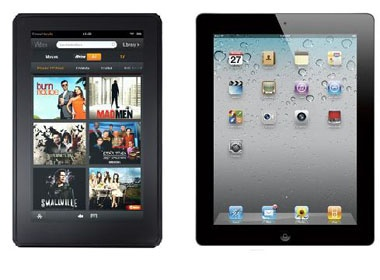 Apple se 'chien' voi Amazon Kindle Fire bang iPad mini hinh anh