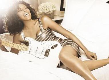 Whitney Houston suyt bi 'tong' khoi may bay hinh anh