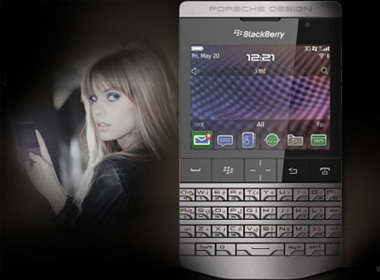 Dien thoai sieu xe Porsche cua BlackBerry ra mat hinh anh
