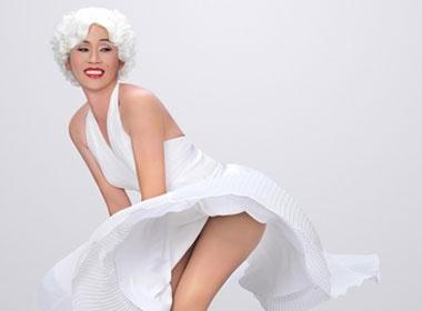 Hoai Linh hoa than thanh... 'Marilyn Monroe tum vay' hinh anh