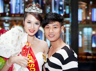 Le Thu An dang quang Miss Parkson hinh anh