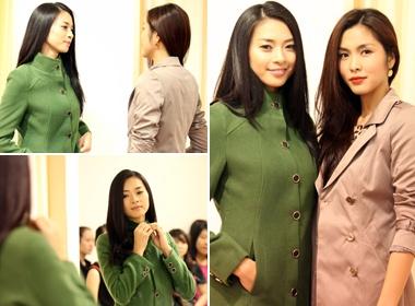 Tang Thanh Ha chon ao cho Ngo Thanh Van hinh anh