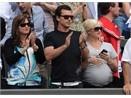 Gwen Stefani bung bau co vu Federer hinh anh