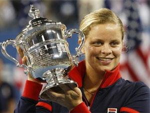 Kim Clijsters lap ki tich, Federer va Del Potro vao chung ket hinh anh