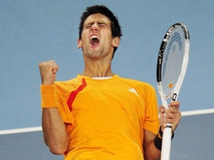 Djokovic va Kuznetsova dang quang tai Bac Kinh hinh anh