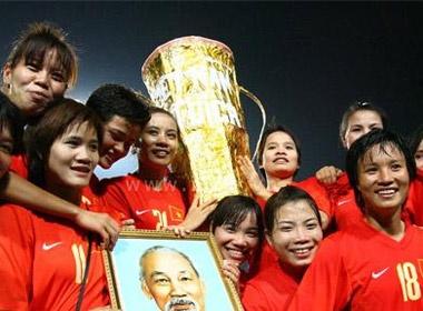 Tuyen nu VN vuot U23 ve tien thuong SEA Games hinh anh