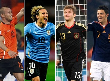 World Cup 2010 va nhung con so thu vi hinh anh