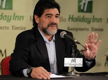 'Quyen luc den' buoc Maradona tu chuc? hinh anh