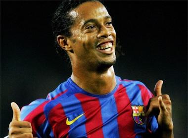 Barca - AC Milan: Tri an Ronaldinho hinh anh