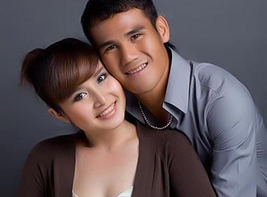 Tien dao Thanh Binh hanh phuc don con gai chao doi hinh anh