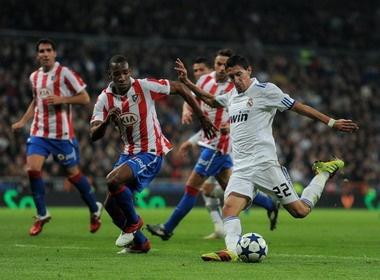 Atletico - Real: Co hoi cho mau Do-Trang hinh anh