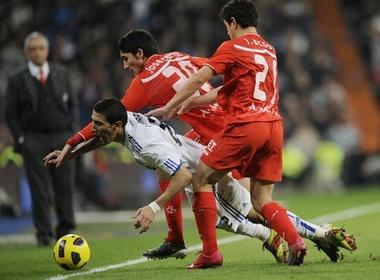Sevilla – Real Madrid: 'Ken ken' di de kho ve hinh anh