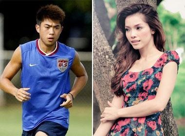 Lee Nguyen hen ho Quach An An? hinh anh