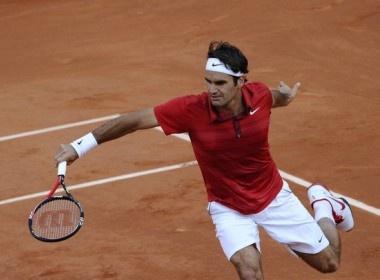 Federer 'dat lich' gap Djokovic o ban ket hinh anh