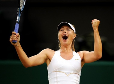 Sharapova va Azarenka de dang vao ban ket hinh anh