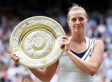 Kvitova gianh ngoi hau tai Wimbledon hinh anh
