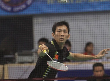 Tien Minh nhe nhang vao vong 1/16 Viet Nam Open 2011 hinh anh