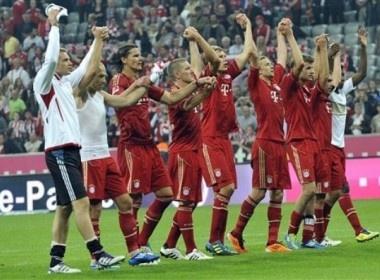 Vui dap Leverkusen, Bayern noi dai ky luc hinh anh
