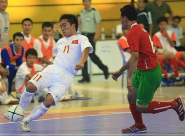 Futsal Viet Nam khong e ngai Thai Lan hinh anh