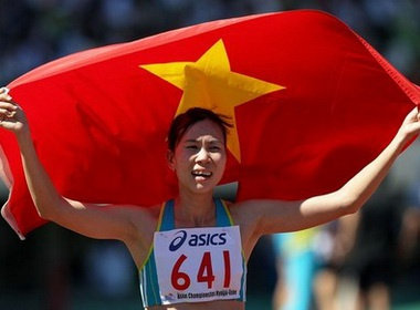 Dien kinh Viet Nam truoc 'diep vu kep' tai SEA Games 26 hinh anh
