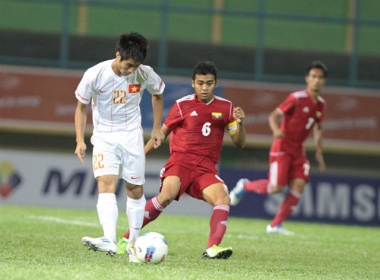 U23 Viet Nam, Myanmar chinh thuc vao ban ket hinh anh