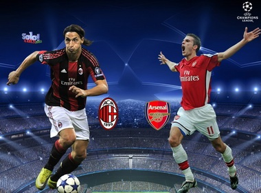 Vong knock-out Champions League: Milan dung Arsenal, Real 'de tho' hinh anh