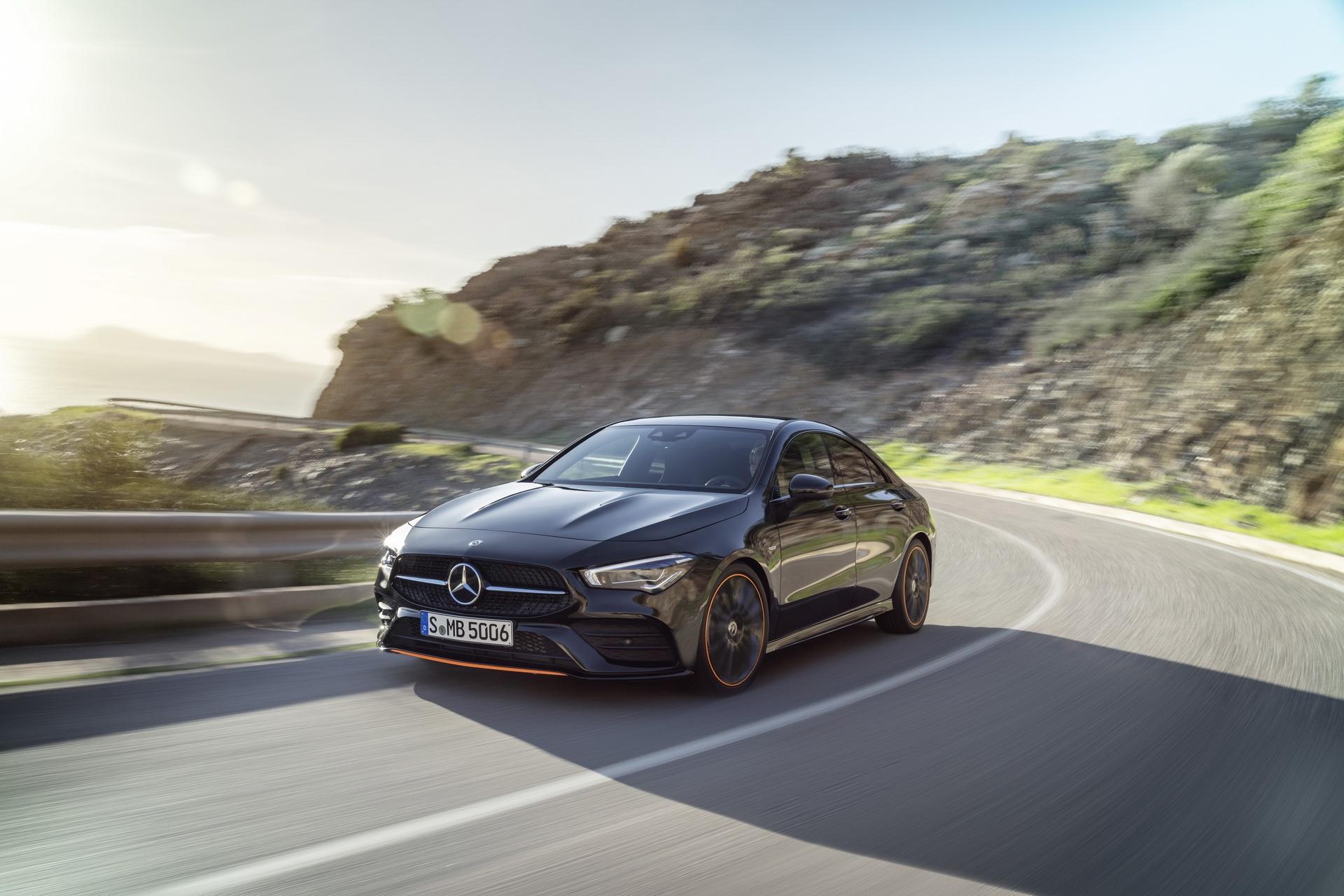 نتيجة بحث الصور عن Mercedes-Benz CLA Coupé2019)