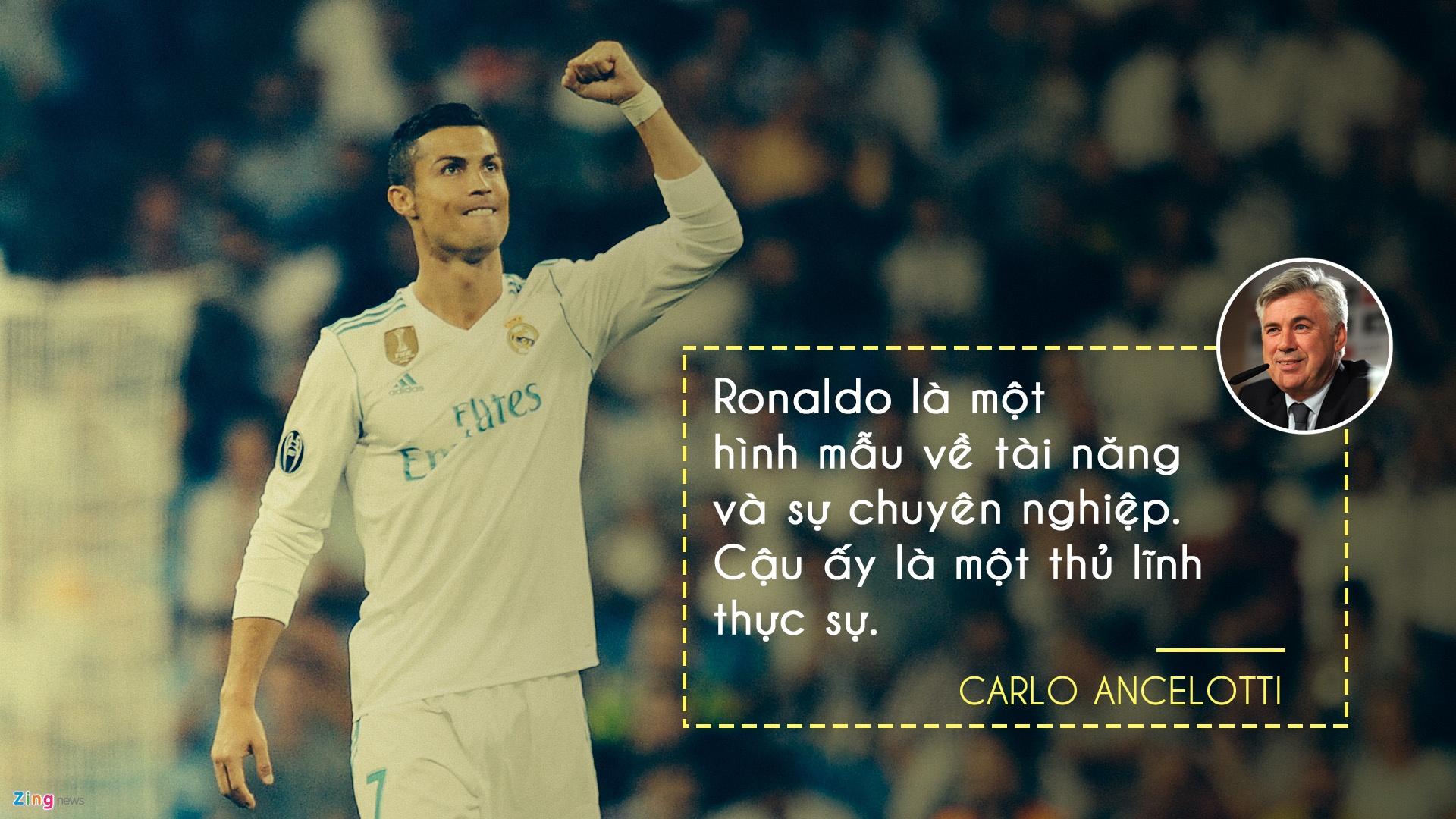 Nhung danh thu, huyen thoai bong da noi gi ve Ronaldo? hinh anh 1
