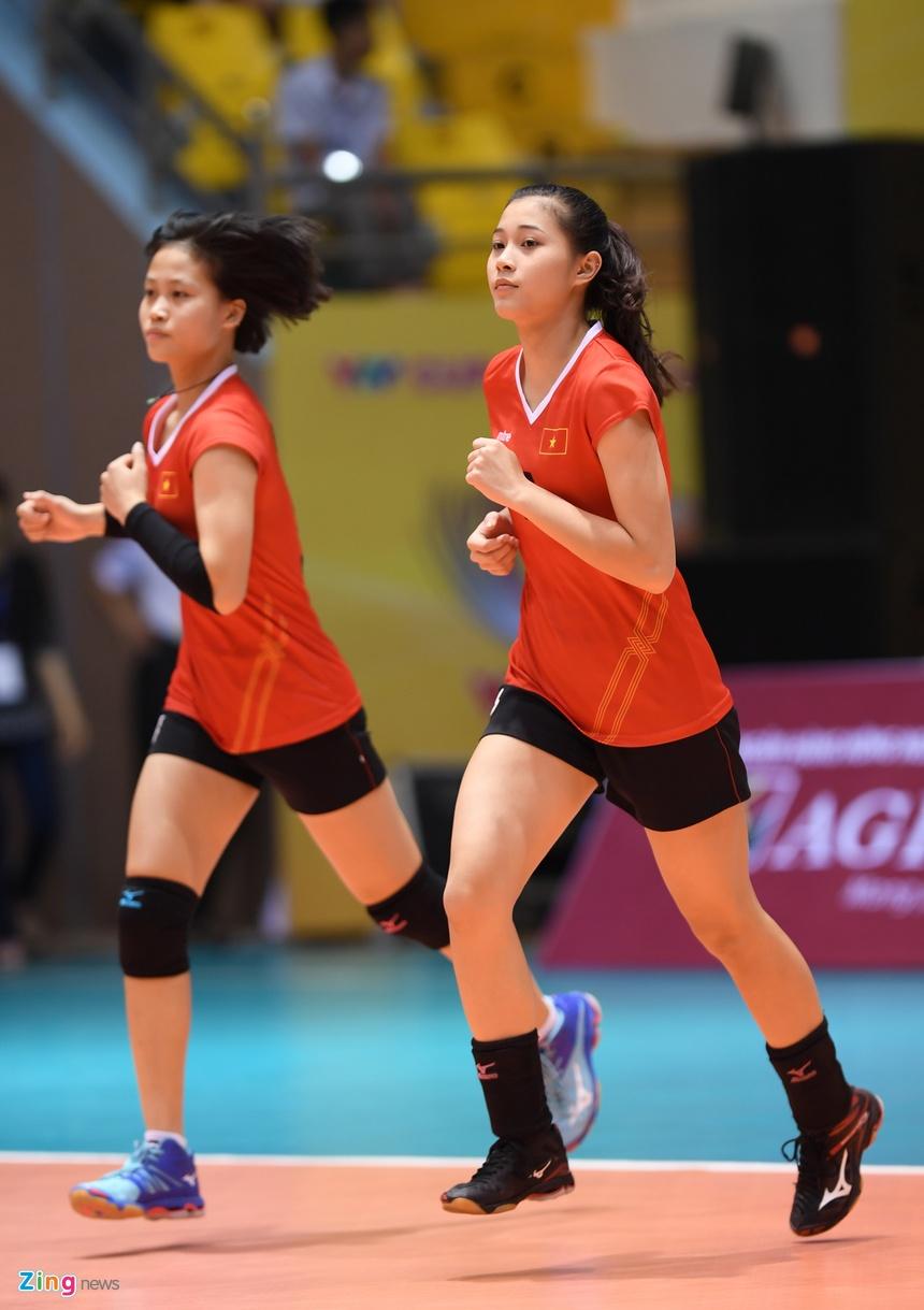 Ve dep cua dan Hoa khoi bong chuyen VTV Cup 2017 hinh anh 1