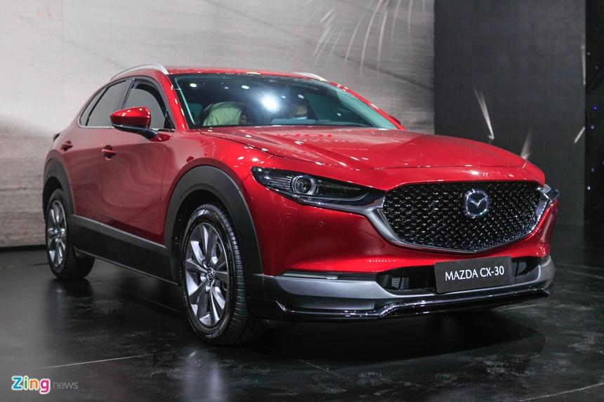 Mazda ra mat CX-3 va CX-30 anh 5