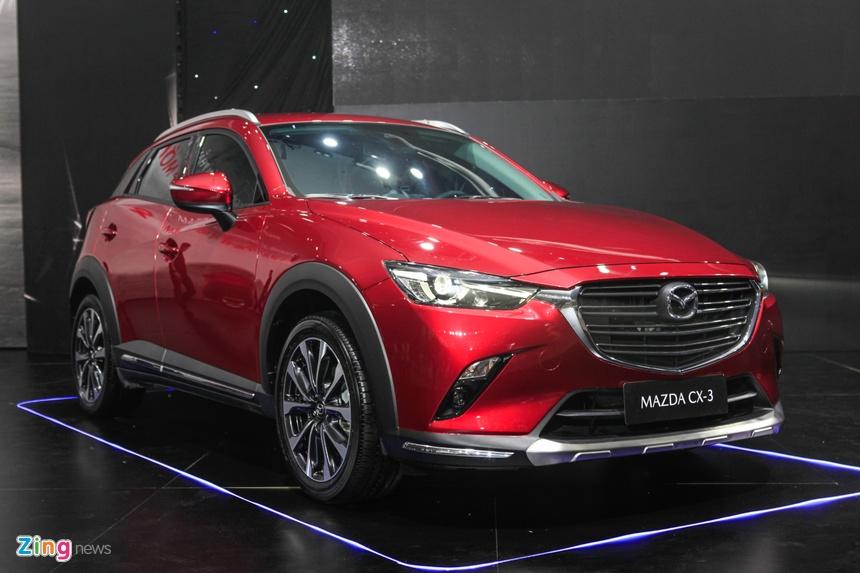 Mazda ra mat CX-3 va CX-30 anh 2
