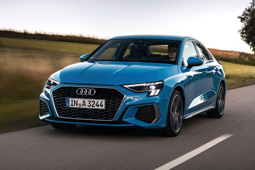 Audi tung loat anh day du cua A3 Sedan 2021 anh 7