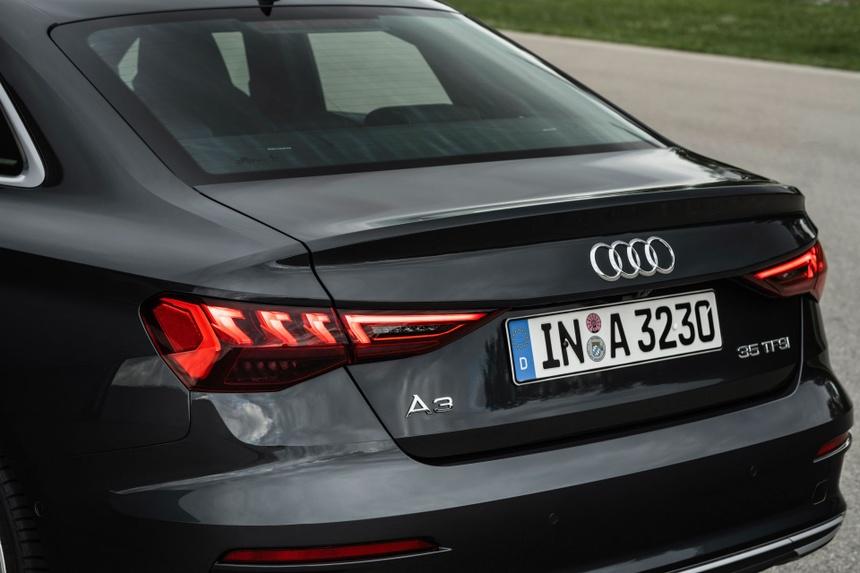 Audi tung loat anh day du cua A3 Sedan 2021 anh 21