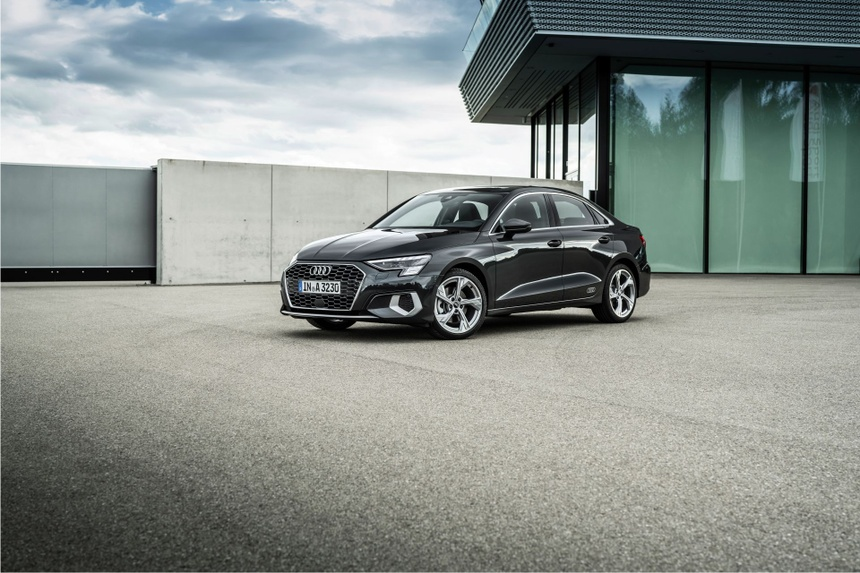 Audi tung loat anh day du cua A3 Sedan 2021 anh 20