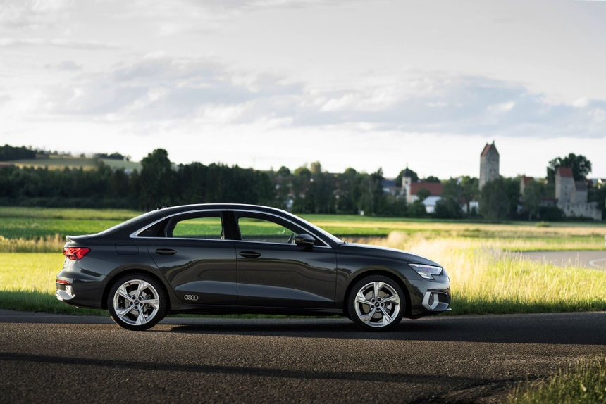 Audi tung loat anh day du cua A3 Sedan 2021 anh 12