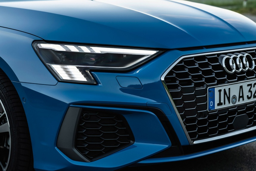 Audi tung loat anh day du cua A3 Sedan 2021 anh 6