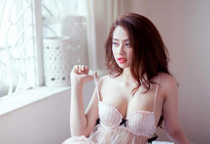 Hot girl Ngoc Miu - tro thu cua trum ma tuy Van Kinh Duong hinh anh 2