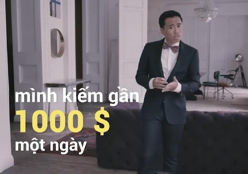 Tro lua dao kiem 1.000 USD/ngay gay xon xao tren YouTube Viet Nam hinh anh 1