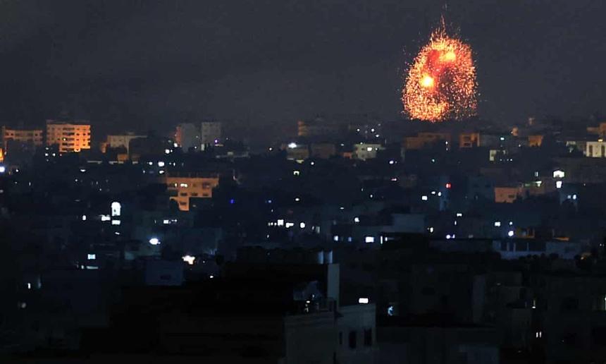bo binh tan cong Gaza anh 1