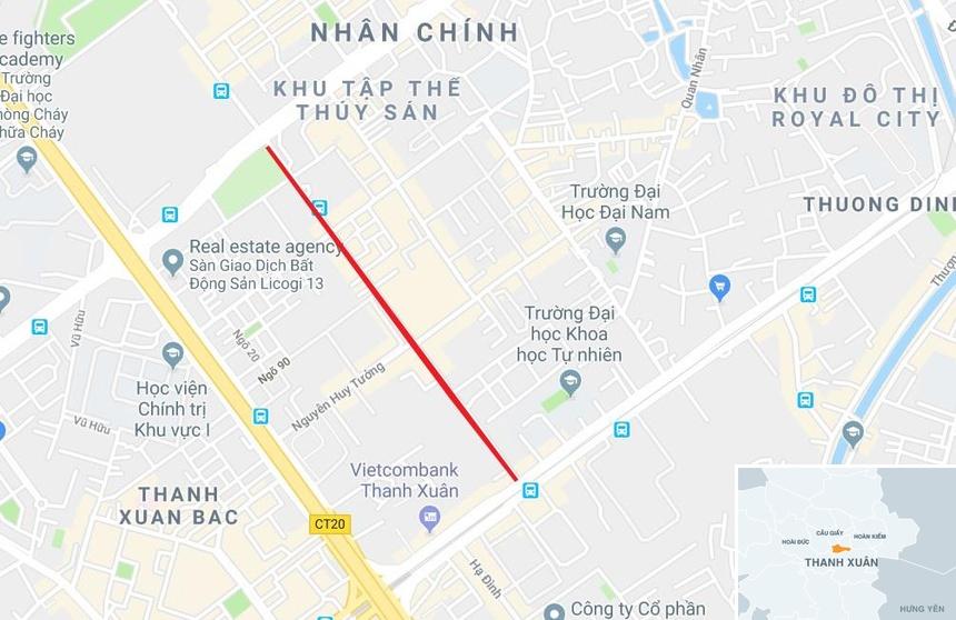 20 toa chung cu chen chuc tren tuyen duong 720 m tai Ha Noi hinh anh 14