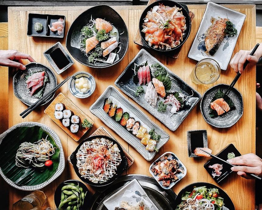 marketing nhà hàng bằng thực đơn đa dạng