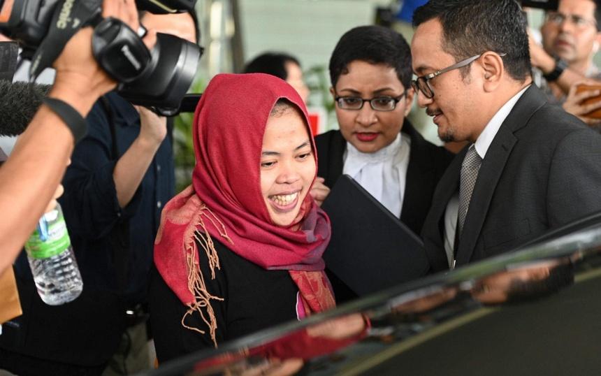 Hau truong Indonesia van dong de tha co gai trong nghi an Kim Jong Nam hinh anh 2