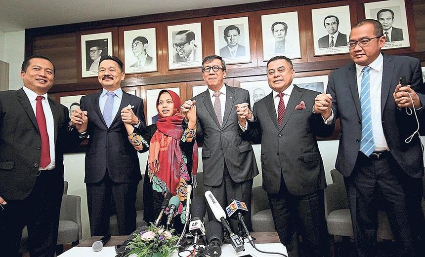Hau truong Indonesia van dong de tha co gai trong nghi an Kim Jong Nam hinh anh 1
